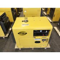 China 220 Volt 22A Sound Proof Diesel Generator With Single Cylinder Four Stroke Engine on sale