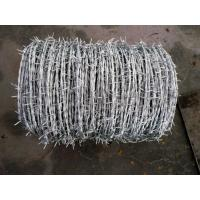 Buy cheap Roll Galvanized Barbed Wire For Agriculture / Animal Husbandry 12.5x14.5 Gauge from wholesalers