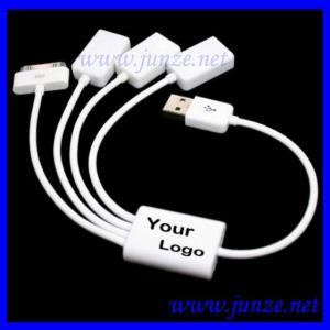 China USB 2.0 3 Port HUB & USB Data Sync Charger Cable on sale