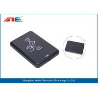China 13.56 MHz Desktop Contactless RFID Reader Writer, USB Interface RFID Chip Readers 46g on sale