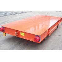 China Ac/Dc Electric Rail Cart , Heavy Duty Flat Car With Long Service Life on sale