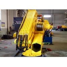 China 2T@6M Hydraulic Pedestal Crane Folding Boom Crane Telescopic Marine Crane wholesale