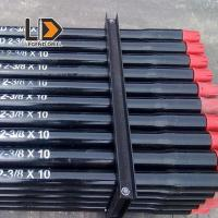China Tmf Speed Threaded Drill Rod , Drill Pipe Thread Types In Drifting Tunneling wholesale