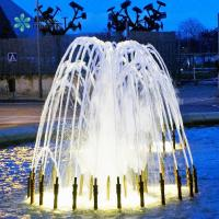 China Fountain With Water, Light, Flame, Music And Fireworks Giant Musical Water Dancing Fountain For Large Park wholesale