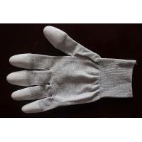China Copper Top/Palm PU Coated Conductive Gloves on sale