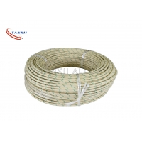China 10mm2  Nickel Plated Copper Conductor With Mica Tape And Fiberglass Braiding on sale