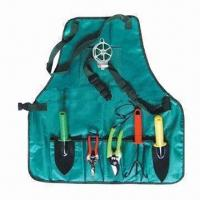 China Garden Tool Set with Apron, Customized Logos and Colors are Welcome wholesale