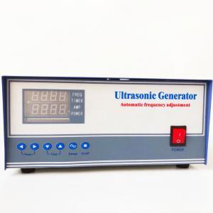 China 40Khz Ultrasonic High Power Generator / Ultrasonic Pulse Generator For Transducer Vibrator wholesale