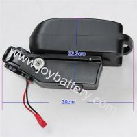 24V 20AH Seatpost Frog Case Li-ion Battery with BMS and 5A Charger (Samsung 18650 Cell)