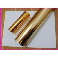 China MSDS Cold T Stamping Transparent Foil Paper Gold Foiling Printing on sale