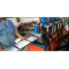 China High Speed 16KW Door Frame Roll Forming Machine , Steel Rolling Shutter Machine wholesale
