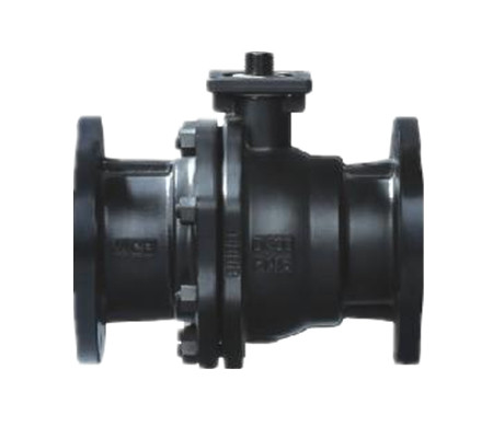 Quality Split body JIS 10K Carbon Steel Ball Valve SCS14 / SCS13 manual operation for sale