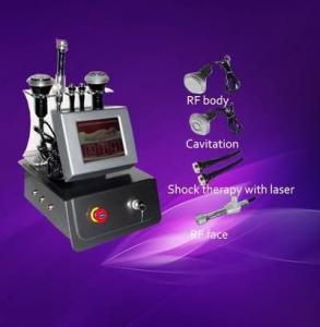 China RF+Cavitation+Shock therapy beauty equipment on sale