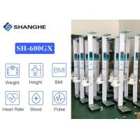 China Blood Pressure Test Hd Lcd Display 500kg Height Weight Scale wholesale