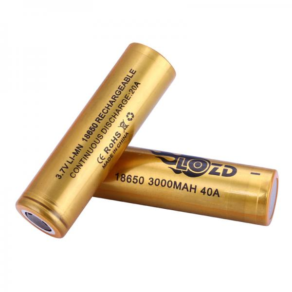 Quality 18650 cylindrical lithium battery for toy car advanced battery OEM rechargeable battery good poformance for sale