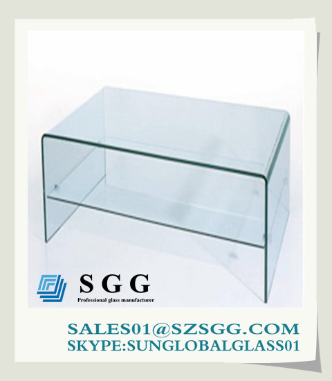 Quality Glass Computer Desk (round,oval,square,rectangle) for sale