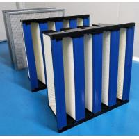 China ABS Plastic Frame High Capacity HEPA Air Filter 99.99 Efficiency wholesale