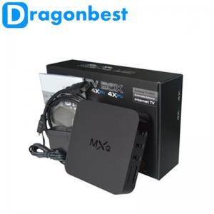 China Internet Tv Receiver MXQ Black Amlogic S805 XBMC Kodi Tv box Quad Core Android Media Player 1G / 8G on sale