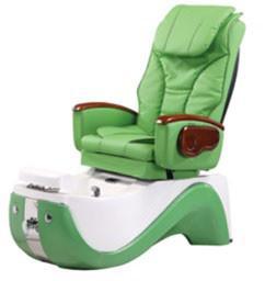 China Зеленый гидравлический возлежа стул 220в -110В Педикуре ВТ-8238 с светом цвета изменяя wholesale