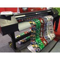 China 160cm Eco Solvent Printer Epson DX7 Print Head For Wall Paper Printing wholesale
