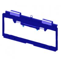 China CP-CY45D01C Forklift Truck Spare Parts Side Shifter Frame 4500kg Capacity Load on sale