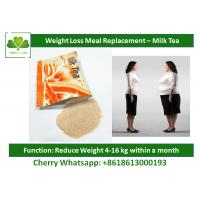 China Slimming Milk Tea Natural Meal Replacement Shakes Healthy Protein Shakes For Weight Loss wholesale