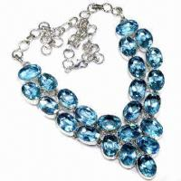 China Fashionable Opal Necklace, Suitable for Weddings, Parties and Gifts wholesale