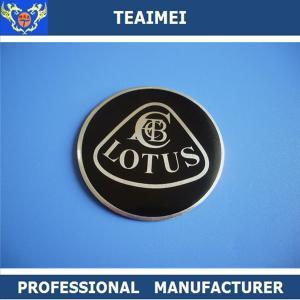 China Custom Wheel Center Cap Stickers Chrome Car Logo CE For Wheel wholesale