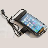 China floatable mobile phone water proof bag with armband and neck hanger wholesale