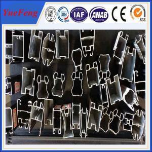 China 6061/6063 aluminum extrusion,aluminium profile for sliding wardrobe doors,OEM on sale