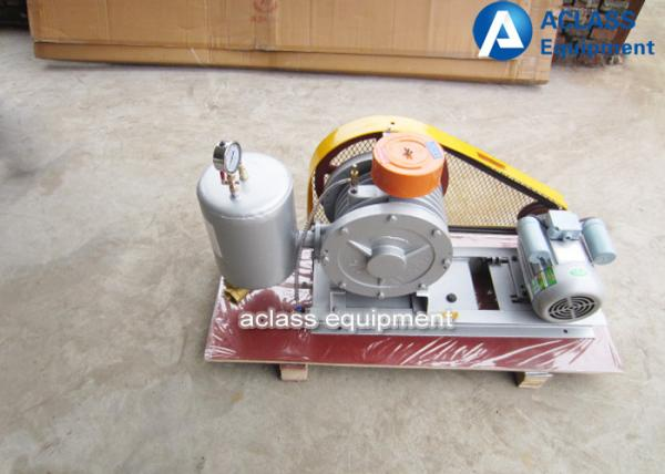 Quality 380v / 50hz Roots Rotary Lobe Blower For Sewage Settlement Special Gas for sale