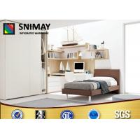 China Customized Cute Girls Bedroom Furniture Sets With Sliding Door Wardrobe wholesale