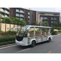 China 14/17 Passengers White Electric Fiber glass Sightseeing Car / Electric Tourist Car JH-Y14 Model wholesale