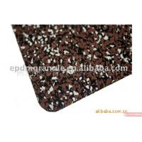 China Anti-skid durable high density mixed color dots 100% EPDM rubber sheet tiles/ rolls wholesale
