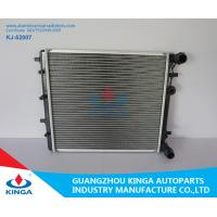 China Mitsubishi Radiator Aluminum Brazed Radiator For Golf 97 / Fabia 99 Plastic Tank PA66 + GF30 wholesale