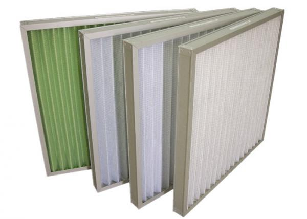 Quality Commercial HVAC Pocket Air Filter / Air Purifier Filters , Low Resistance for sale