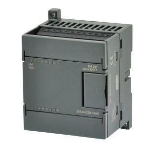 China EM231 200 PLC 4 AI 24V DC Analog Module Modular PLC logic controller wholesale