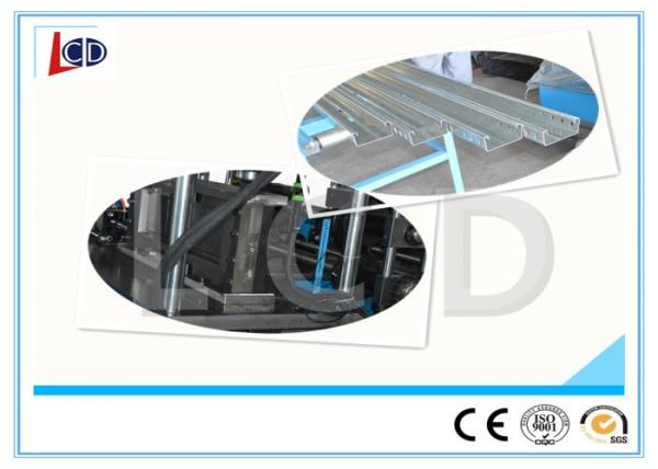 Quality Steel Cable Tray Roll Forming Machine Gear Box Driven 350H Steel Frame for sale