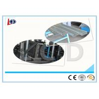 China Steel Cable Tray Roll Forming Machine Gear Box Driven 350H Steel Frame wholesale