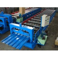 China Zinc roof tile making machine galvanize roof panel roll forming machine wholesale