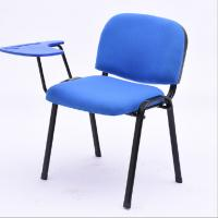 China Blue Ergonomic Office Chair , Meeting Room Or Visiting Room Chairs Without Wheels on sale