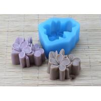 China Food Garde Multi Flower Silicone Mold , Pink Silicone Soap Making Molds wholesale