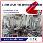 PEX/EVOH oxygen barrier Pipe Machine KAIDE factory