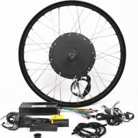 China 1500W 26 Inch Electric Bike Conversion Kit Front Wheel Entry Level Enough Power on sale