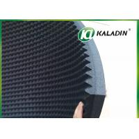 China EPDM Material Acoustic Foam Panels For Soundproofing / Reducing Noise 50mm Black wholesale