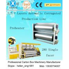 China La grande vitesse 3/5/7 plis a ridé la machine à emballer de carton avec le système de chauffage de vapeur wholesale