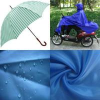 China 190T 210T 300T pu Coated Waterproof Motorcycle Cover Fabric wholesale