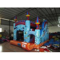 China Digital Printing Commercial Inflatable Combo With Undersea Theme wholesale