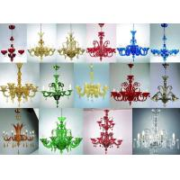 Chandelier Glass Candleholder handed painted lamp Glass Crafts handcraft Crafts, Crystal Decoration