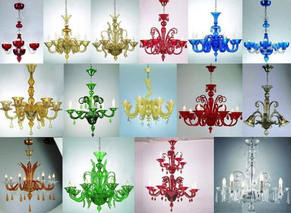 Quality Chandelier Glass Candleholder handed painted lamp Glass Crafts handcraft Crafts, Crystal Decoration for sale
